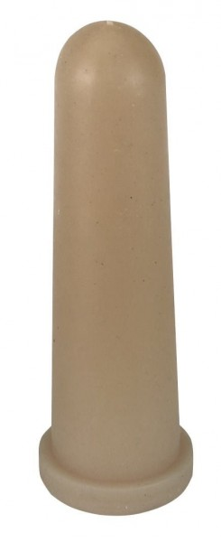 Kälbersauger Latex, konisch, 10cm, Kreuzschlitz, besonders weicher Sauger für Kälber