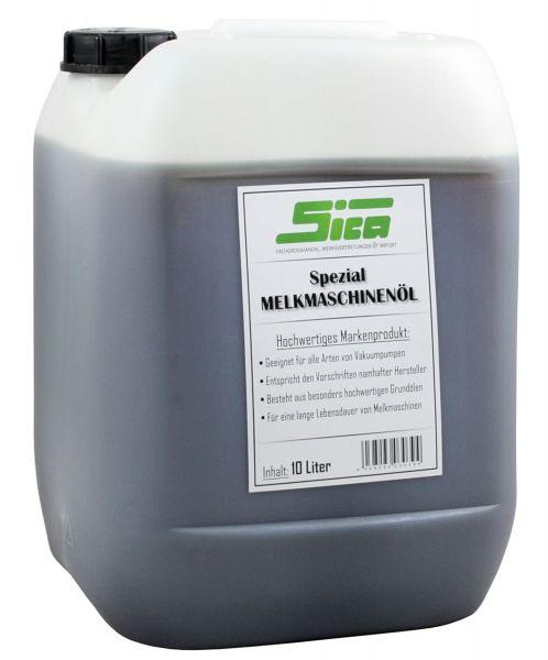 SICA Melkmaschinenöl 10 Liter, aus hochwertigen Grundölen, für alle Arten von Vakuumpumpen
