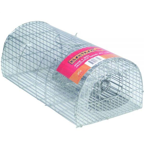 Ratten-Massenfänger ALIVE 40x24x17cm, Lebendfalle, Kastenfalle für den mehrfachen Fang von Ratten