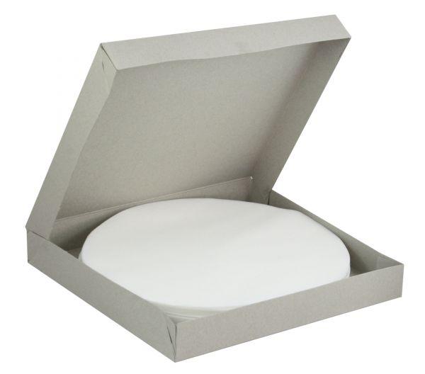 100x Absaugvliesfilter Ø240mm, ohne Loch, für Absauganlagen, die mit Druck oder Vakuum arbeiten