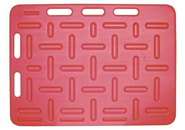 Schweine-Treibbrett 94x76cm, Rot, Treibhilfe für Schweine