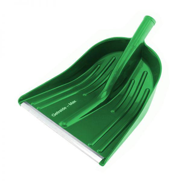GEWA Kunststoffschaufel GETREIDE-MAX, grün, 35x40cm, Getreideschaufel, Schneeschaufel, ohne Stiel