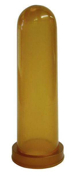 Kälbersauger Kautschuk, konisch, 10cm, Rundloch, besonders weicher Sauger für Kälber