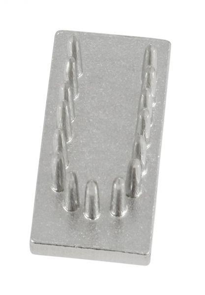 Schlagstempel-Buchstabe: U (20mm), Buchstabe, Einsatz für Schlagstempel