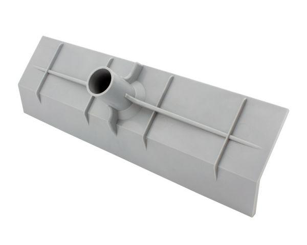 GEWA Wasserschieber 55cm, aus flexiblem Kunststoff, zur Stallreinigung mit Wasser
