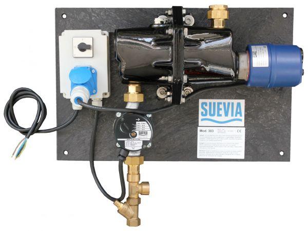 Suevia Heizgerät Mod. 303 (3000W, 230V) zum Frostfreihalten von isolierten Ringleitungen - 101.0303
