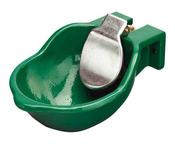 Lister Tränkebecken SB 8 PK mit 1/2 Zoll Kunststoffventil, Gusstränkebecken mit Druckzunge