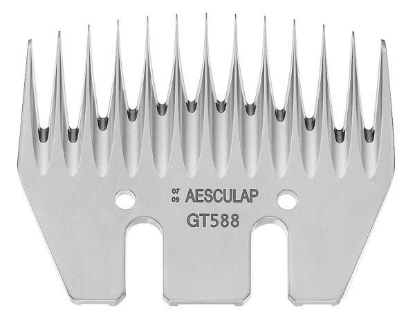 Aesculap Schermesser GT588, 13 Zähne, Untermesser 3,5 mm, Schneiplatte