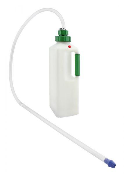 GEWA Calf-Drencher 3 Liter, Drencher für Kälber, Kälberflasche mit Schlauch und Schlundrohr