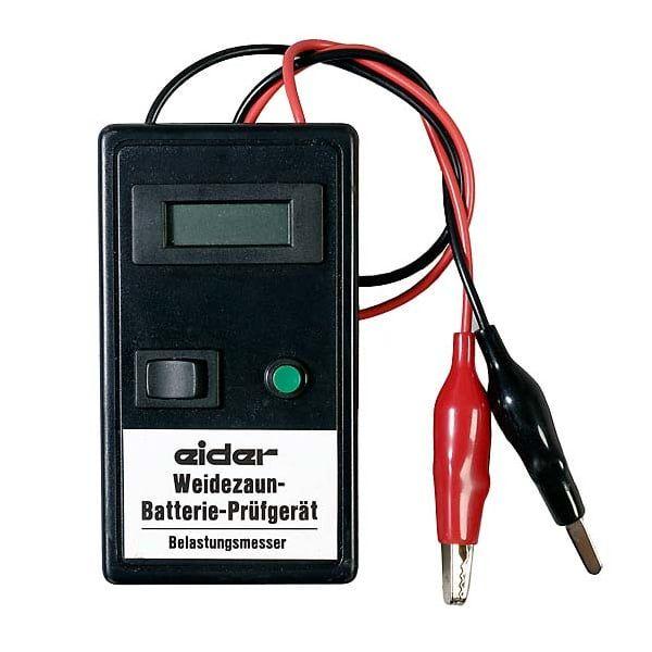 Eider Batterieprüfer mit Digitalanzeige, 0,1 bis 20 Volt, Prüfgerät für Weidezaunbatterien