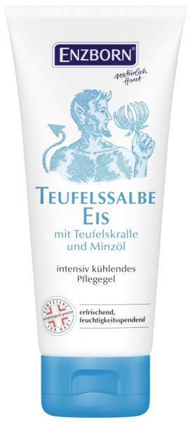 Enzborn® Teufelssalbe Eis 100ml Tube, kühlendes Pflegegel mit der Kraft der Teufelskralle