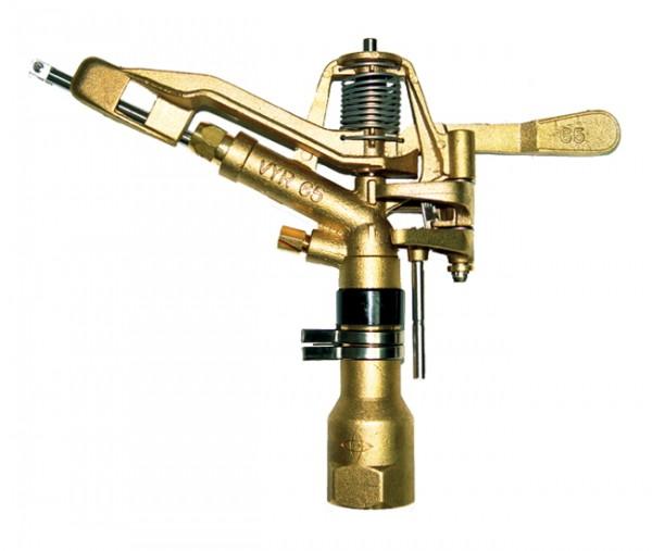 Vyrsa Teilkreisregner VYR-65 1 Zoll, Messing, Kreisregner, Sektorenregner