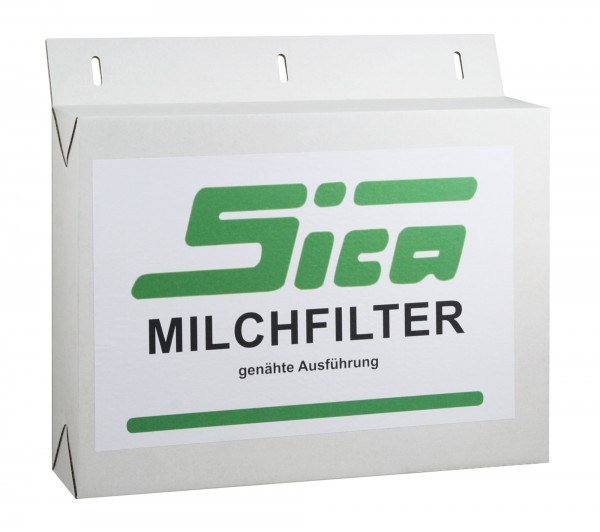 250x SICA Milchfilterschläuche 320x57mm, genäht, Milchfilter für Melkmaschinen und Absauganlagen