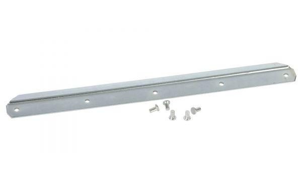 Stahlschutzkante für Aluschaufel Größe 9, Stoßkante mit 5 Nieten, Ersatzschiene, Ersatzkante