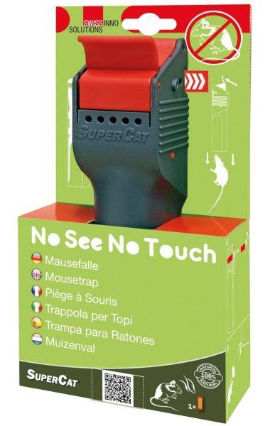 Swissinno® Mausefalle No See No Touch, mit Naturköder, Kein Sehen, Kein Anfassen