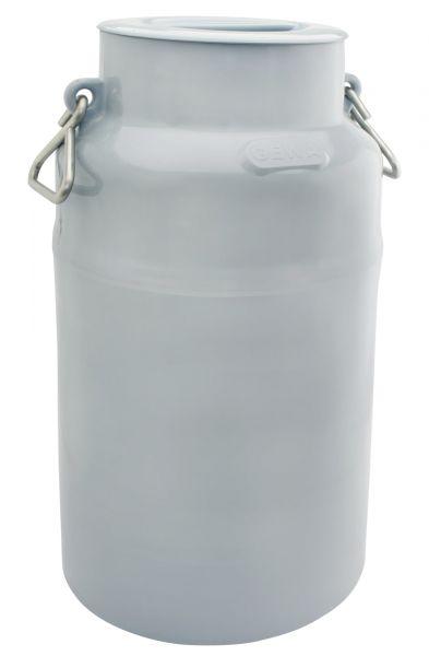 GEWA Milchkanne, 40 Liter, Ø34x60cm, aus Spezialkunststoff, mit Edelstahlhenkeln und Deckel