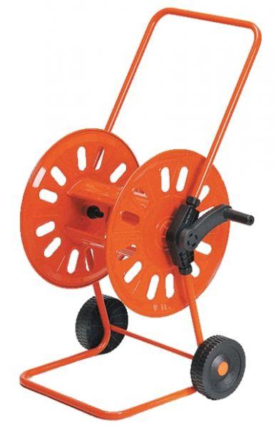 Schlauchwagen Mod. 311, Metall, mit Handkurbel, für 80m 1/2 Zoll oder 50m 3/4 Zoll Schlauch