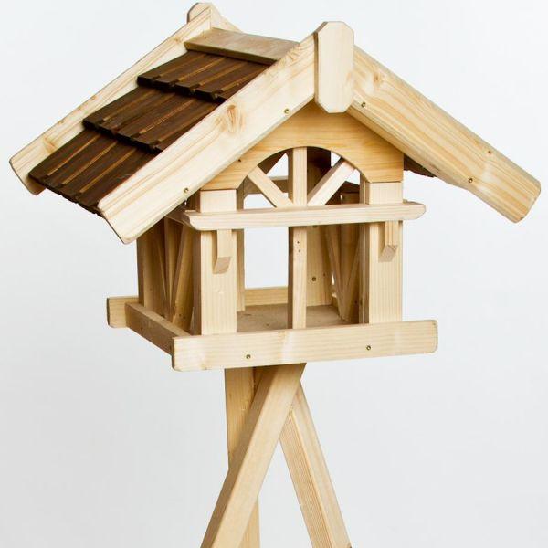 """SICA Futterhaus """"Eggeloge"""" mit Dreibein-Standfuß, Vogelhaus 56x53x40cm"""