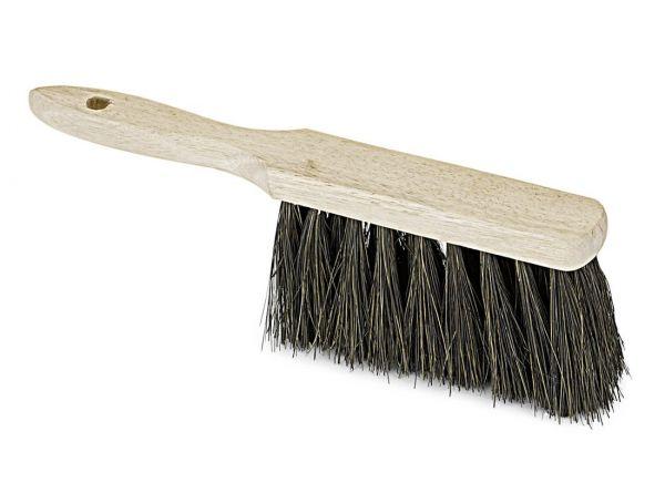 Handfeger Arenga, mit Holzgriff 28cm, Industriehandfeger, nassfest und ölbeständig