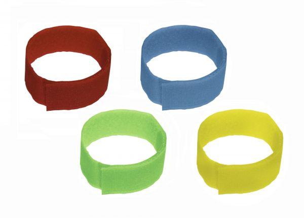 10x Fessel-Markierungsband mit Klettverschluss, 36cm, Fesselbänder zur Viehmarkierung