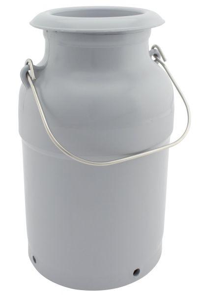 GEWA Milchkanne, 5 Liter, Ø17x30cm, aus Spezialkunststoff, mit Edelstahlhenkeln und Deckel