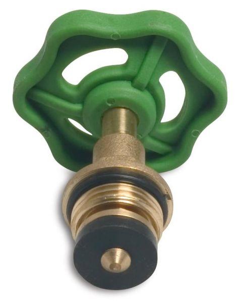 Schrägsitzventil-Oberteil 1/2 Zoll AG, mit Handrad, Ventiloberteil, Absperrventiloberteil