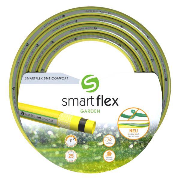Nextep® Gartenschlauch SMT-Yellow 1 Zoll, 50m, 5-schichtig, mit patentierter Maschenstruktur