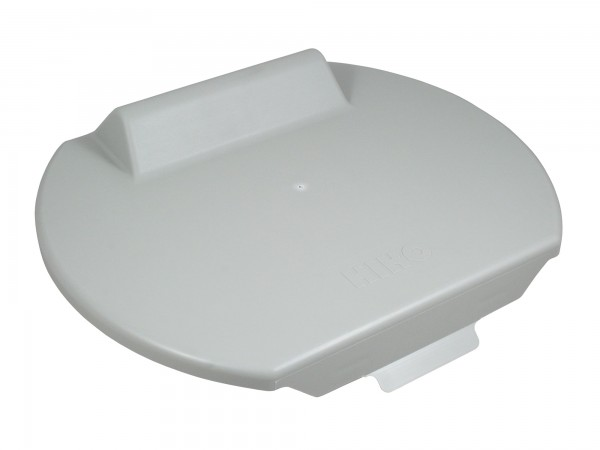Original-HIKO Deckel für Kälbereimer GRAU, verhindert Verschmutzen und Abkühlen der Kälbermilch