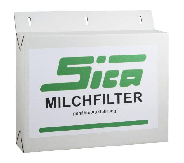 250x SICA Milchfilterschläuche 620x57mm, genäht, Milchfilter für Melkmaschinen und Absauganlagen
