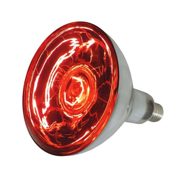 Eider Infrarotlampe, rot, 250 Watt, für Infrarot-Aufzuchtstrahler, Wärmestrahler