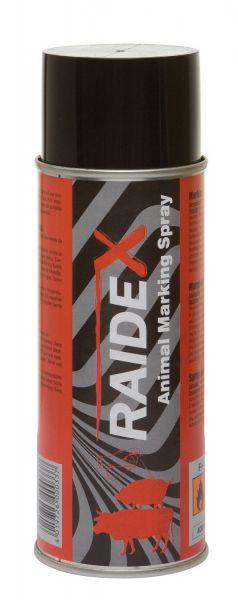 Raidex® Viehzeichenspray 200ml Rot, Markierungsspray zur Kennzeichnung von Tieren