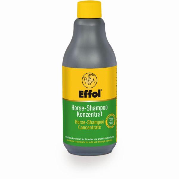 Effol® Horse-Shampoo-Konzentrat 500ml, Pflegeshampoo für Kurz- und Langhaar