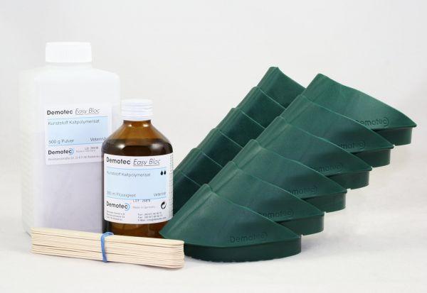Demotec® Easy Bloc, 12er-Pack, das innovative System zur Klauenbehandlung bei Kühen und Rindern