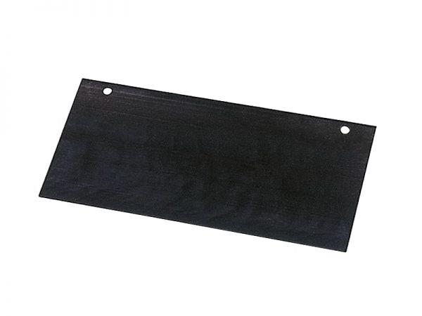 Ersatzblech 30cm für Stoßscharre, 1mm Federstahlblech für Stallkratzer